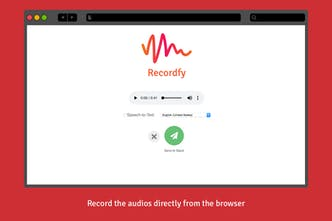 Recordfy - Send audio messages on Slack (with Speech-to-Text