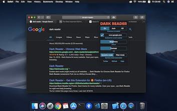 Dark Reader for Safari - Dark mode for every website