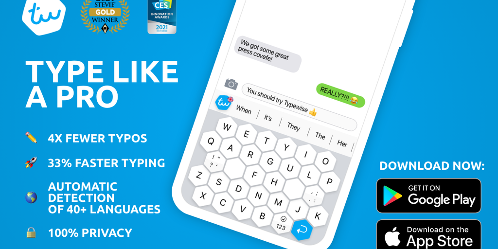 Typewise 3.0 - The privacy-friendly, free Gboard alternative | Product Hunt