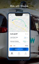 Waymo One - A ride hailing app from Alphabets self driving