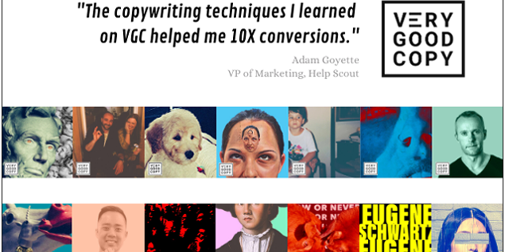 VeryGoodCopy - 100s of proven copywriting principles & techniques, for free | Product Hunt