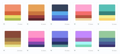 Color Hunt - Curated collection of beautiful colors, updated