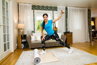 Weela multifunctional home gym with personal trainer app product
