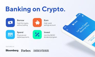 Nexo - Banking on Crypto — Borrow Earn Pay Invest | Product Hunt