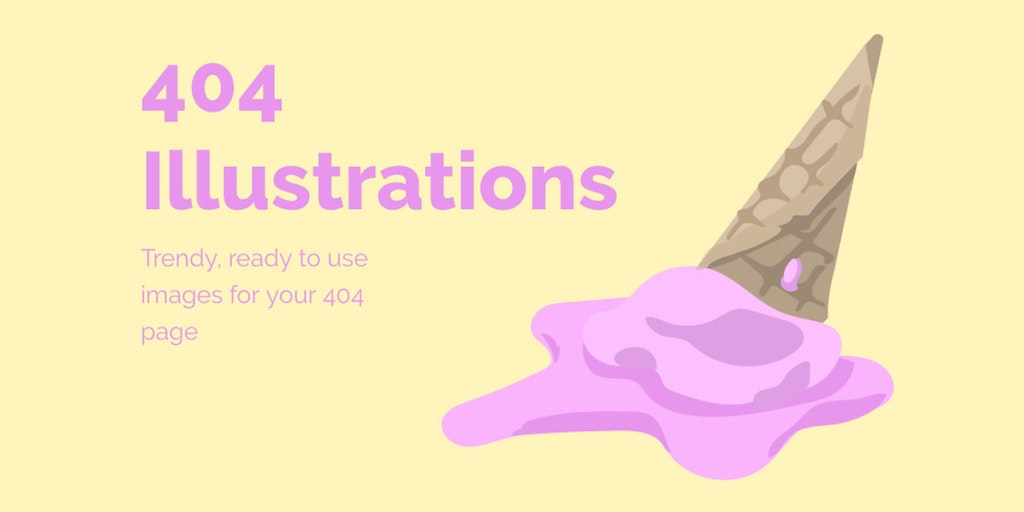 Trendy 404s - A set of creative templates for your 404s | Product Hunt