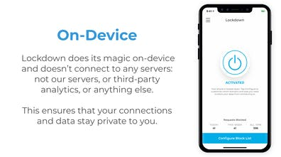 Lockdown Apps - Free and open source firewall for iPhone