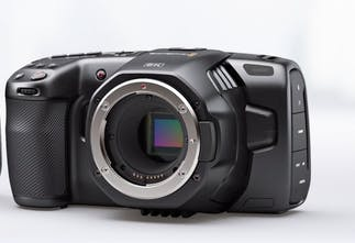Black Magic Pocket Cinema Camera 6K - A professional grade 6k pocket