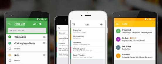 Capitan - AI powered shopping list: Never forget anything at