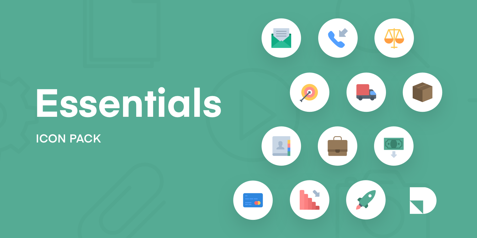 Essentials Icon Pack from InVision - The most popular icons, all in one place