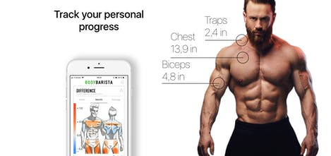 BodyBarista - Measure your body with only your iPhone and a mirror