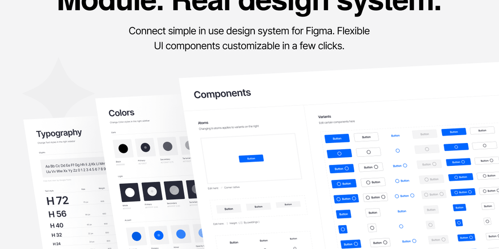 Module - Drag and drop design system for Figma | Product Hunt