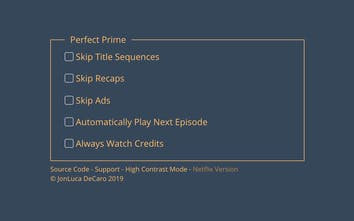 Perfect Prime - Skip ads and recaps on Amazon Prime Video