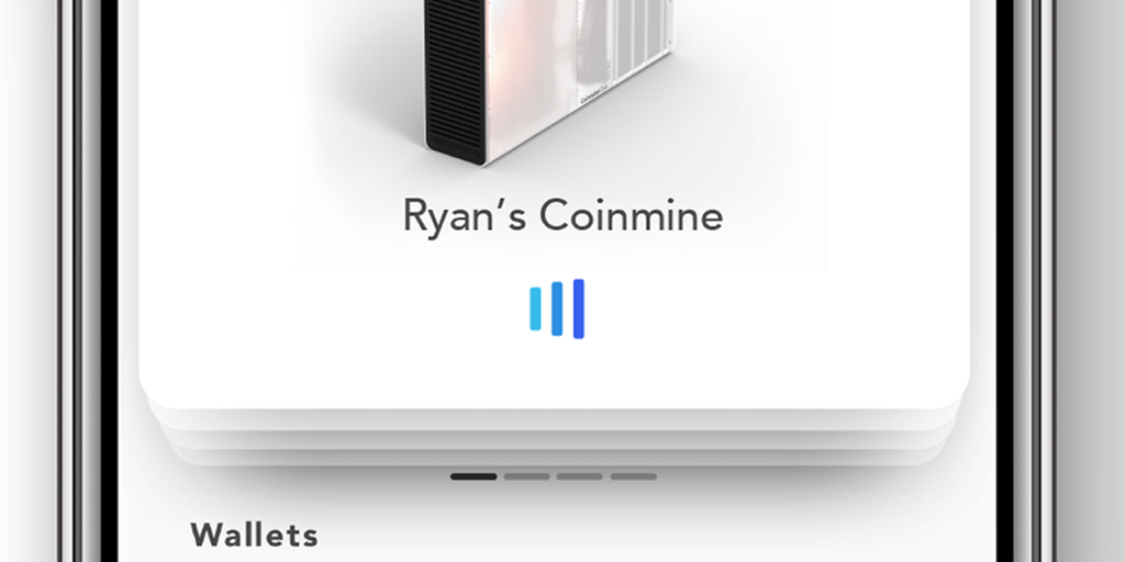 Coinmine - An in-home crypto mining machine | Product Hunt