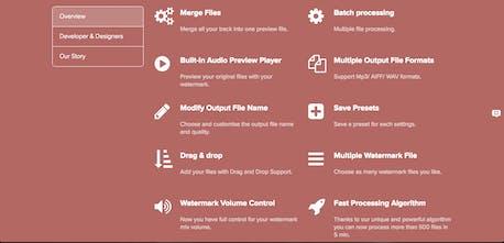 Audio Watermark Generator 2 0 - Audio watermarking made