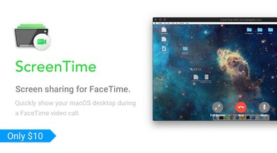 ScreenTime - Show your macOS desktop on FaceTime   Product Hunt