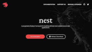 NestJS - A progressive Nodejs framework 🚀 | Product Hunt