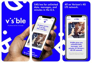 Visible - It's phone service In an app   Product Hunt