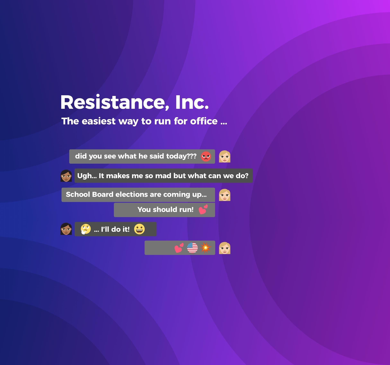 Resistance, Inc