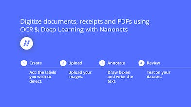 Nanonets OCR - Intelligent text extraction using OCR and