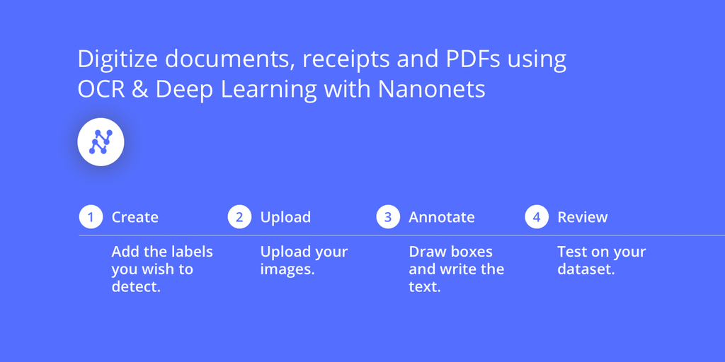 Nanonets OCR - Intelligent Text Extraction using OCR and Deep Learning | Product Hunt