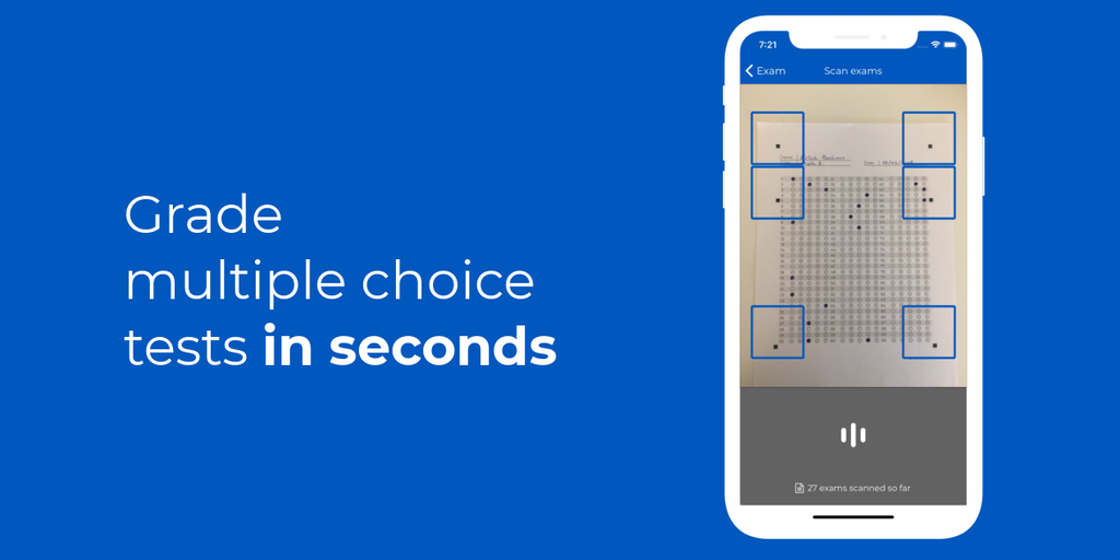 SmartGrade - Instantly grade multiple choice tests with your smartphone | Product Hunt