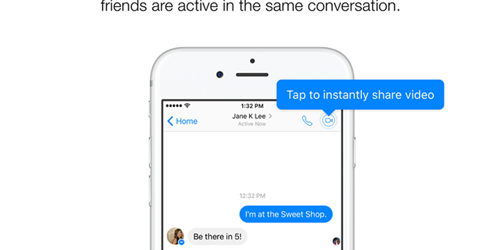how to add video to facebook messenger