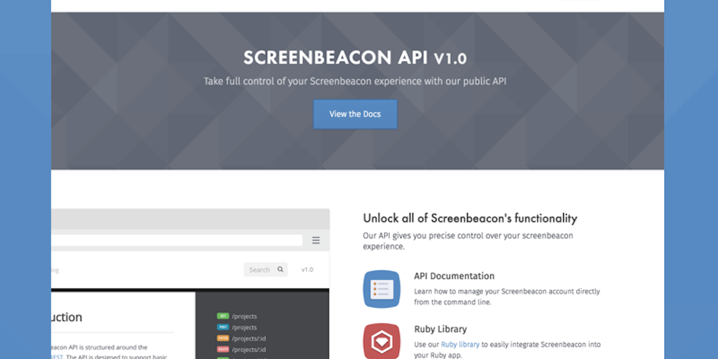 Screenbeacon - Fully automated integration testing for
