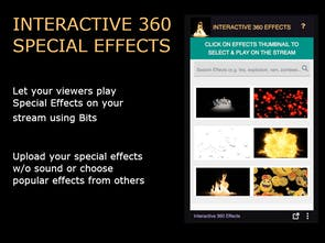 Interactive Special Effects for Twitch - Twitch Viewers can