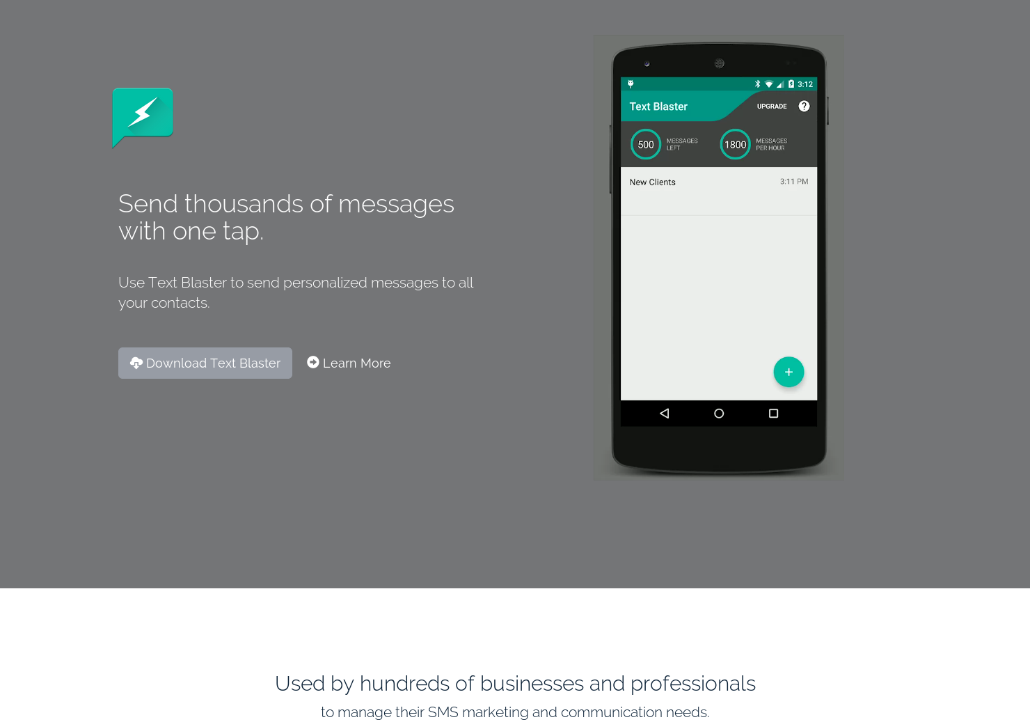Text Blaster - Send thousands of text messages with one tap