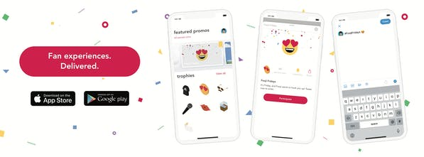 Fooji App - Rewarding fans for interacting with their