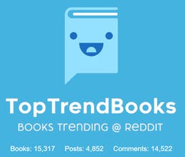 TopTrendBooks - Over 15,000 books ranked everyday using based on