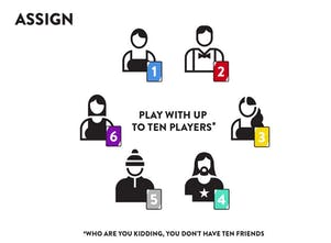 The Voting Game - A party game for discovering who your