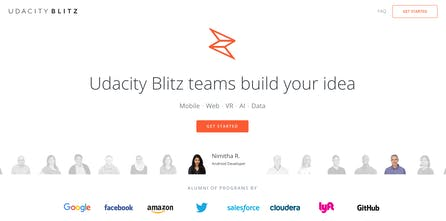 Udacity Blitz - Get software built by engineers you can hire