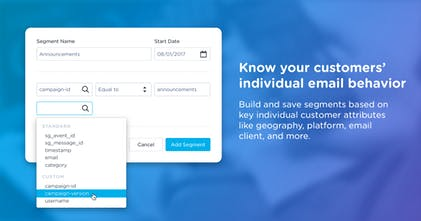 SendGrid Email Analytics by Keen IO - Detailed email