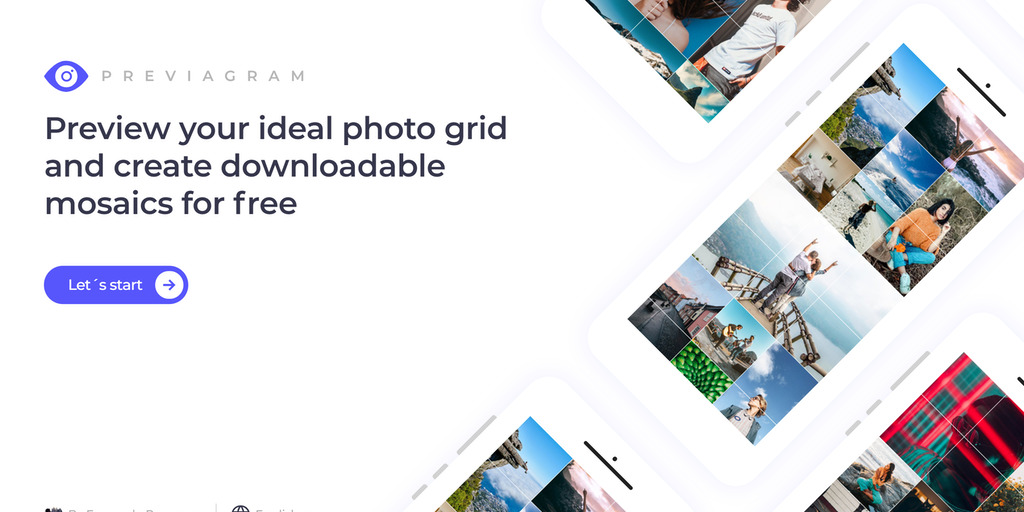 Previagram - Preview your ideal photo grid and create mosaics for free | Product Hunt