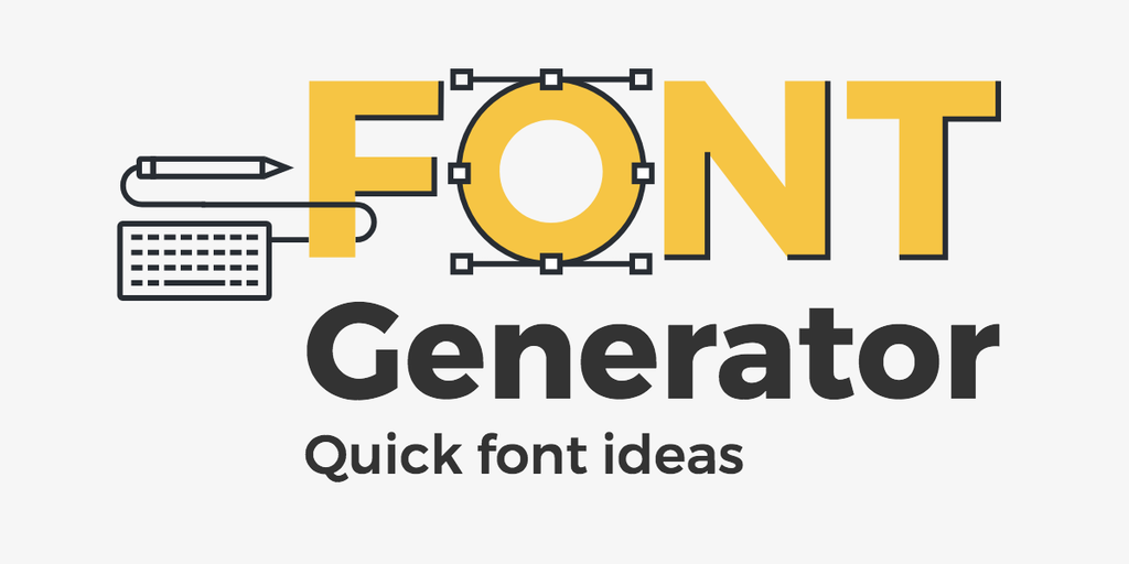 font generator tons of font ideas in one click product hunt