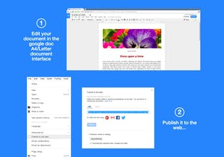 Google Doc Publisher - Make Google Docs good-looking in two clicks