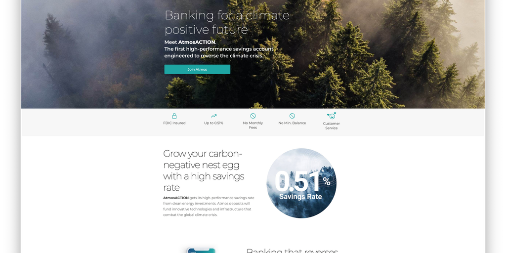 Atmos - Save money, save the planet | Product Hunt