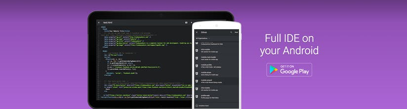 CodeAnywhere Android - Full featured IDE | Product Hunt