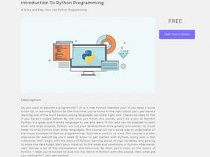Quick Code - Curated list of free online programming courses