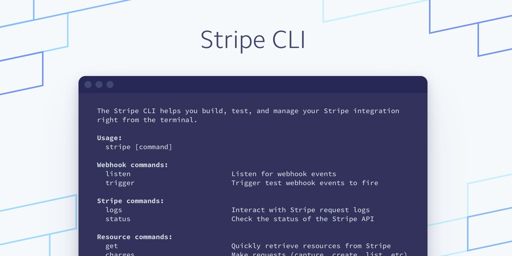 Stripe CLI - Build and test your Stripe integration from the terminal | Product Hunt