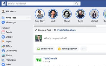 Facebook Stories for Google Chrome - View your friends