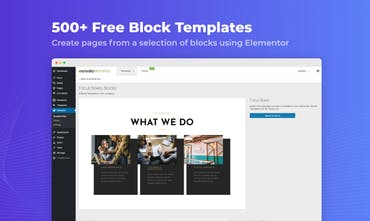 Elements for WordPress - Free templates & premium stock photos from