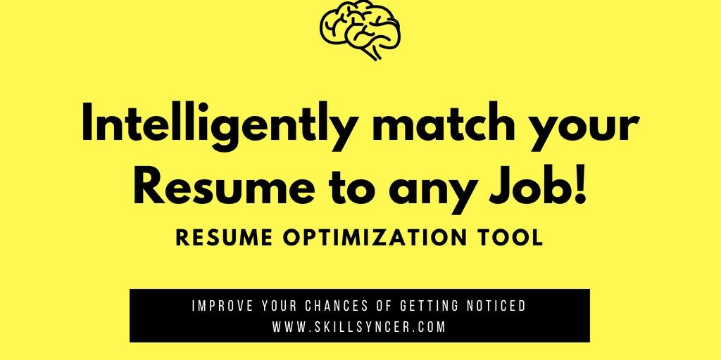 Skillsyncer Resume Keyword Optimization Tool For Job Seekers