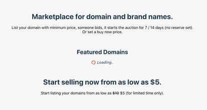 Buy io - A new way to sell & buy domain names | Product Hunt