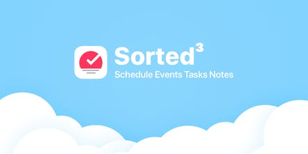 Sorted³ - Schedule events, tasks, and notes | Product Hunt