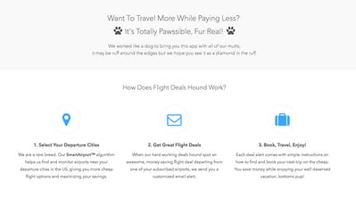Flight Deals Hound - Personalized cheap flight alerts delivered to