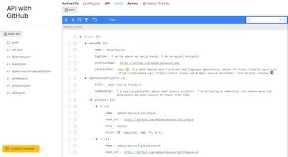 APIs With GitHub - Create simple JSON APIs with GitHub