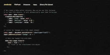 Doka js - A JavaScript image editor for your website ✂️ | Product Hunt