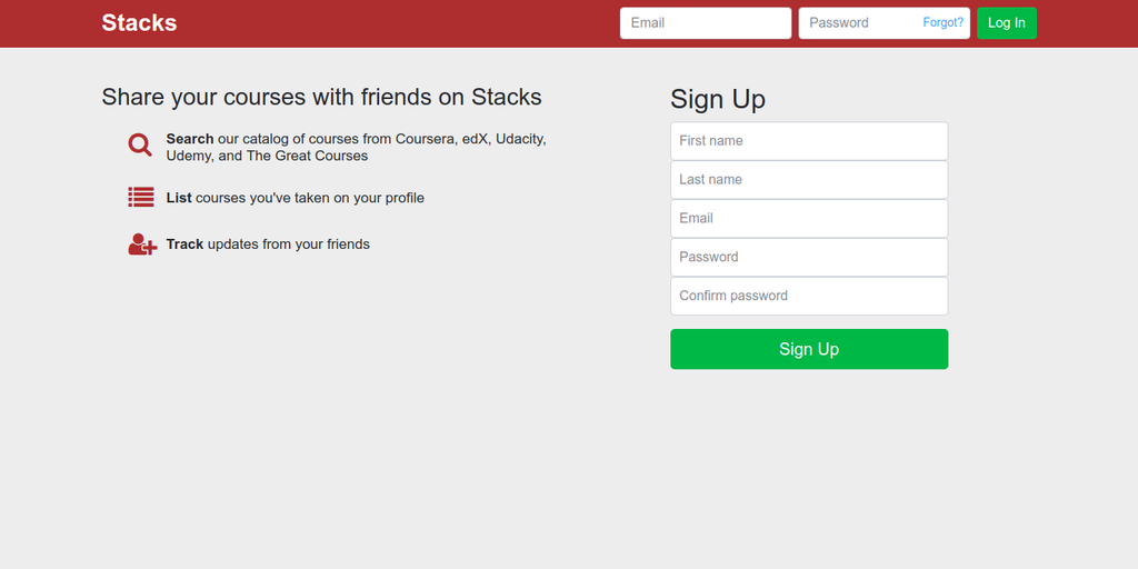 Stacks - A bookshelf for your online courses | Product Hunt
